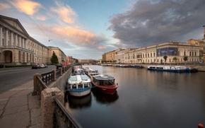 Картинка река, Санкт-Петербург, Фонтанка