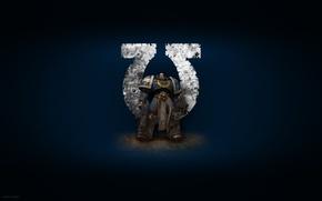 Картинка warhammer, 40k, ultramarines, ультрамарины, вархаммер, космический десант