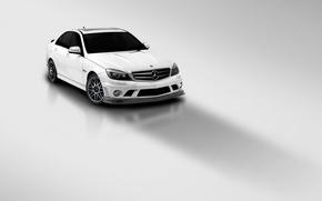 Обои Mercedes, Benz, C63-AMG, Vorsteiner