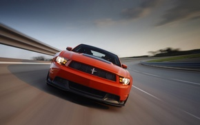 Обои Mustang, Ford, 302, Boss