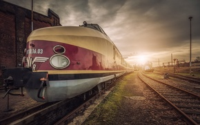 Картинка дорога, поезд, станция