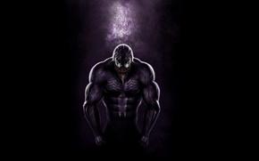 Картинка язык, глаза, страх, сила, зубы, Веном, Venom