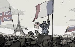 Картинка Париж, Игры, Война, Valiant Hearts: The Great War