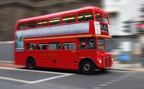 Картинка Лондон, автобус