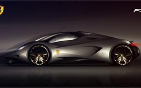 Обои Ferrari, prototype