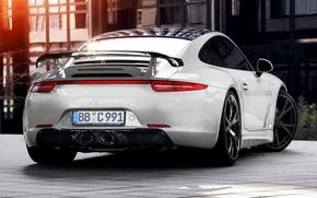Картинка купе, 911, Porsche, Carrera 4, порше, Coupe, 2013, 991, каррера, TechArt