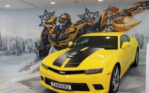 Картинка машины, трансформеры, Chevrolet
