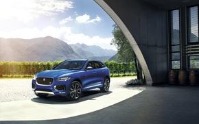Обои 2015, ягуар, Jaguar, F-Pace S
