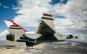 Обои истребитель, Fighting, F-16, Falcon, Dynamics, General