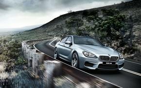 Картинка бмв, купе, BMW, Gran Coupe, F06, 2015