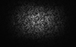 Картинка узоры, текстура, черно-белое, орнамент
