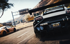 Картинка NFS, Game, Need for Speed Rivals, Electric Arts, EA
