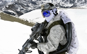 Картинка оружие, United States Navy SEALs, армия, солдат