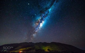 Обои млечный путь, звезды, ночь, небо