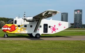Обои лёгкий, Short SC.7, Skyvan, транспортный, самолёт