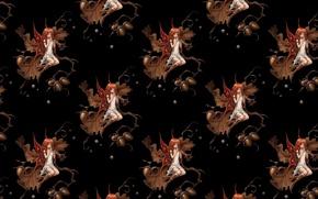 Картинка фентези, текстура, арт, девочка, фейка