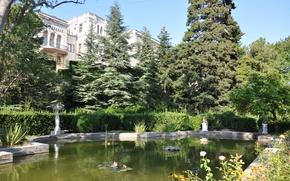 Картинка Крым, Ялта, Юсуповский дворец, Кореиз