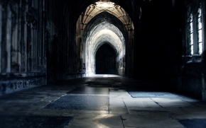 Картинка фильм, коридор, Гарри Поттер, Harry Potter, Хогвартс