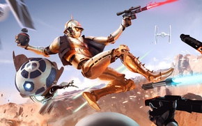 Обои mao grenade, pistol, jedi knight, weapon, Star Wars, bounty hunter, light saber, jedi, gun, fight-sci-fi