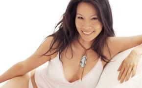 Картинка улыбка, актриса, Lucy Alexis Liu