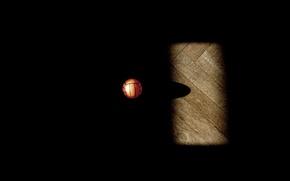 Картинка мяч, тень, basketball