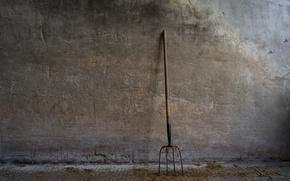 Картинка фон, стена, вилы