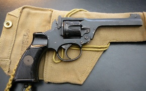 Картинка макро, оружие, револьвер