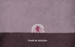 Картинка valve, dota 2, sheron1030, minimalsim, lanaya, Templar assassin