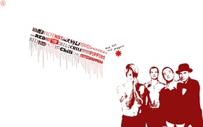 Картинка музыка, music, Красные, Red, Hot, Rock, Рок, RHCP, Red Hot Chili Peppers, острые, Chili, чилийские, ...