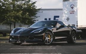 Картинка Z06, Corvette, Chevrolet, One, Forged, Wheels, Piece, Forgeline, Monoblock, VX1