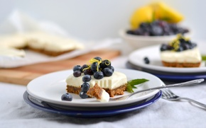Обои торт, cream, food, cake, десерт, dessert, fruits, сладкое, cheesecake, черника, фрукты, крем, пирожное, еда, cranberries