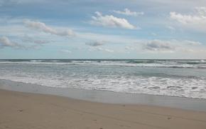 Картинка песок, море, волны, пляж