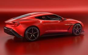 Картинка Concept, фон, Aston Martin, астон мартин, Zagato, Vanquish, ванквиш