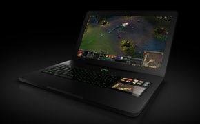 Картинка modern, gaming, laptop, razer blade
