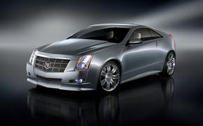 Обои Coupe, CTS, кадиллак, Concept, Cadillac, купе