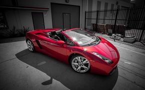 Картинка Lamborghini, Red, Gallardo, tuning