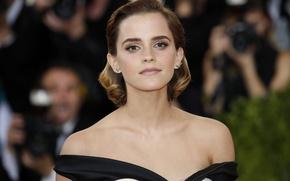 Картинка модель, актриса, Эмма Уотсон, Emma Watson, фотосессия, Met Gala 2016
