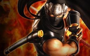 Картинка меч, Ninja Gaiden, Рю Хаябуса