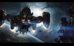 Картинка Star Citizen, space ship, Reclaimer
