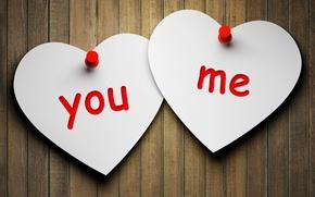 Картинка любовь, сердце, love, heart, you, paper