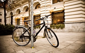 Картинка bicycle, photography, street, lightining