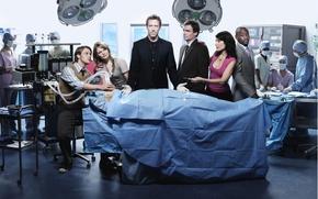 Обои сериал, операционная, Доктор Хаус, House M.D