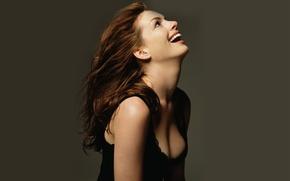 Картинка Красавица, Смех, Anne Hathaway, Энн Хэтэуэй