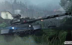 Картинка здания, танк, т-90, БМПТ, armored warfare
