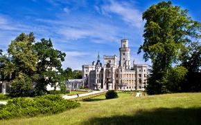 Картинка Замок, Обои Чехия, замок Глуба над Влтавой