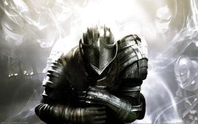 Обои Доспехи, Рыцарь, PS3, Xbox 360, Dark Souls