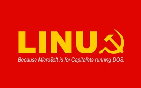 Обои Communism, Linux, Red