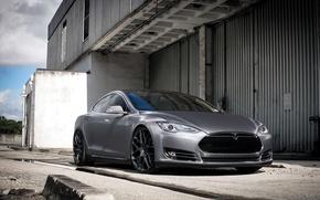 Картинка wheels, Model, Tesla, Avant Garde, p85