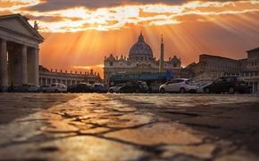 Картинка закат, Рим, Sunset