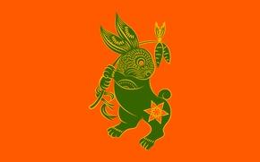 Обои зодиак, Zune, кролик
